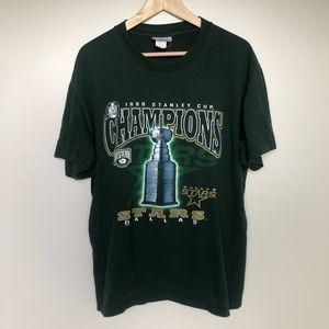 1999 Dallas Stars Stanley Cup Championship Shirt